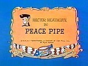 Peace Pipe Free Cartoon Picture