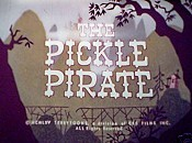 The Pickle Pirate Cartoon Character Picture