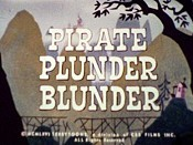 Pirate Plunder Blunder Cartoon Character Picture