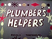 Plumber's Helpers Picture Into Cartoon