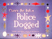 Police Dogged Cartoon Pictures