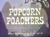 Popcorn Poachers Cartoon Character Picture
