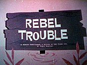 Rebel Trouble Cartoon Character Picture