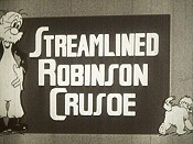 Robinson Crusoe Free Cartoon Picture
