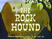 The Rock Hound Cartoon Character Picture