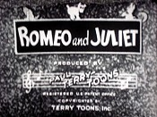 Romeo And Juliet Picture Of Cartoon