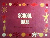 School Daze Picture Of Cartoon