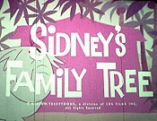 Sidney's Family Tree Free Cartoon Picture