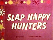Slap Happy Hunters Cartoon Picture
