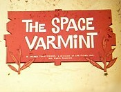 The Space Varmint Cartoon Picture