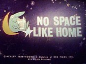 No Space Like Home Free Cartoon Picture