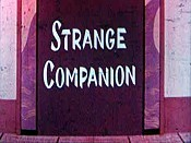 Strange Companion Free Cartoon Picture