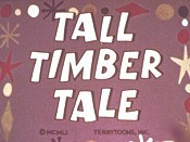 Tall Timber Tale Cartoon Picture