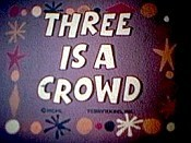 Three Is A Crowd Cartoon Character Picture