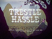 Trestle Hassle Cartoon Picture