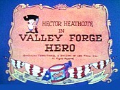 Valley Forge Hero Free Cartoon Picture