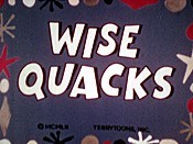 Wise Quacks Free Cartoon Picture