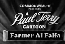 Farmer Al Falfa Theatrical Cartoon Series Logo