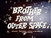 Brother From Outer Space Free Cartoon Picture