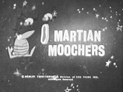 Martian Moochers Picture Into Cartoon