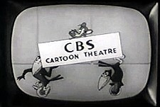 CBS Cartoon Theatre  Logo