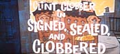 Signed, Sealed, And Clobbered Cartoons Picture