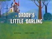 Daddy's Little Darling Free Cartoon Picture