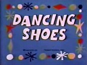 Dancing Shoes Cartoon Picture