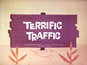 Terrific Traffic Cartoon Picture