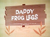 Daddy Frog Legs Cartoon Picture