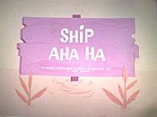 Ship Aha Ha Cartoon Picture