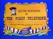 The First Telephone Free Cartoon Picture