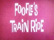Foofle's Train Ride Free Cartoon Picture