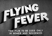 Flying Fever Free Cartoon Picture
