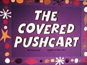 The Covered Pushcart Cartoon Picture