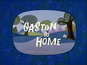 Gaston Go Home Free Cartoon Picture