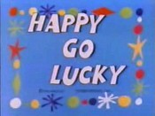 Happy Go Lucky Free Cartoon Picture