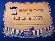 Pig In A Poke Picture Of Cartoon