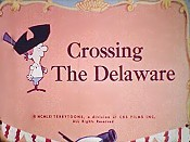 Crossing The Delaware Cartoon Picture