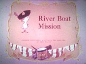 River Boat Mission Cartoon Picture