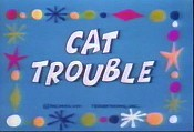 Cat Trouble Cartoon Picture
