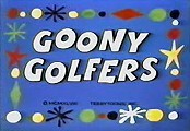 Goony Golfers Cartoon Character Picture
