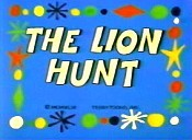The Lion Hunt Cartoon Picture