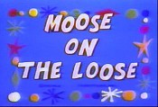 Moose On The Loose Picture Into Cartoon