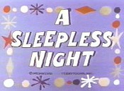 A Sleepless Night Cartoon Picture