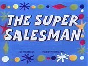 The Super Salesman Picture Into Cartoon