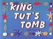 King Tut's Tomb Picture Into Cartoon