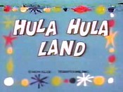Hula Hula Land Free Cartoon Picture