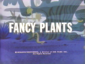 Fancy Plants Cartoon Character Picture