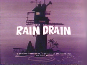 The Rain Drain Cartoon Picture